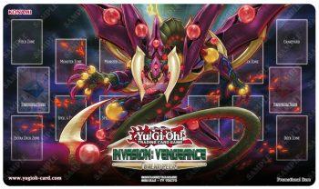 Tapete del torneo Yugioh! de la colección Invasión venganza en Vitoria