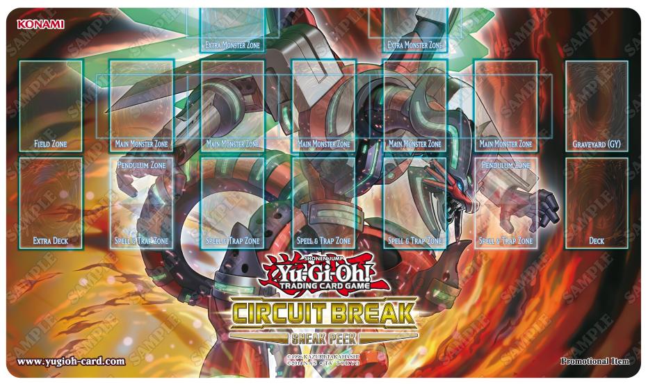 Tapete de la Colección de Yu-Gi-Oh! o Yugioh! destrucción del circuito en Vitoria