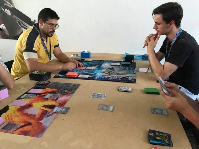 Imagen de un torneo de YUgioh!