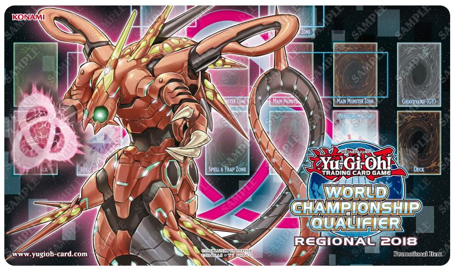 Tapete del torneo oficial de Yugioh! Regional para el wcq 2018 en Vitoria