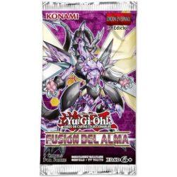 Imagen de un sobre de la colección de yugioh! : fusión del alma