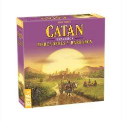 Imagen de la expansión para el juego Catan - Mercaderes y bárbaros