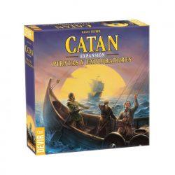Juego Catan piratas y exploradores en VItoria