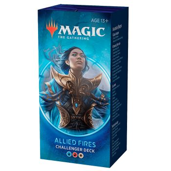 Allied Fires challenger deck juego Magic the gathering