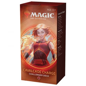 Cavalcade charge challenger deck juego Magic the gathering