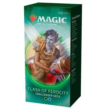 Flash of ferocity challenger deck juego Magic the gathering