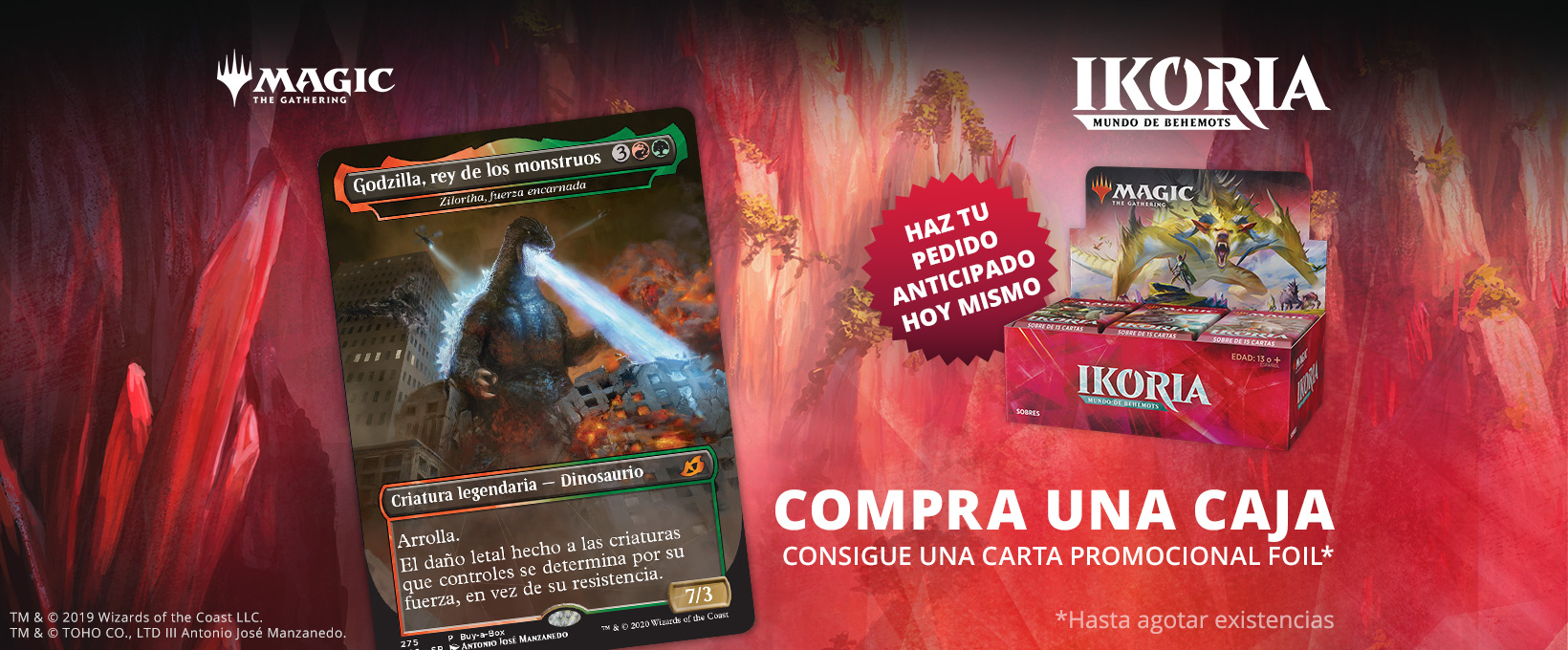 Ikoria mundo de behemots juegoMagic the gathering
